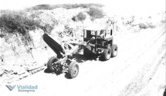Las Grutas Cañadon de entrada 1963