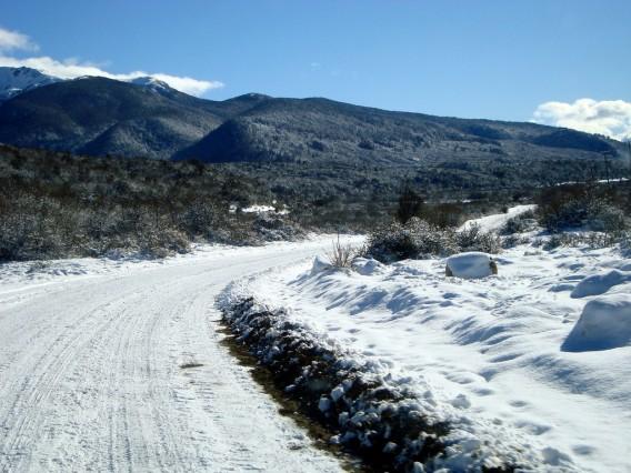 Camino al cerro Perito Moreno. Rio Negro. Argentina