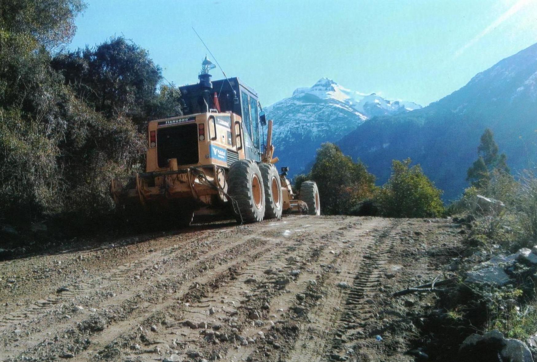 Resultado de imagen para Ruta Provincial 83, en cercanías a El Manso