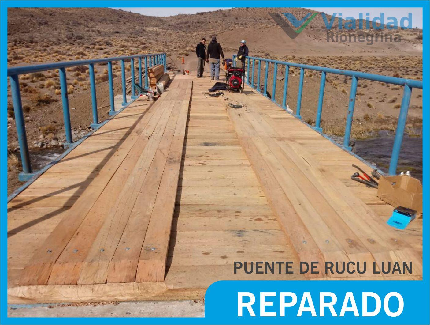Puente Rucu Luan REPARADO