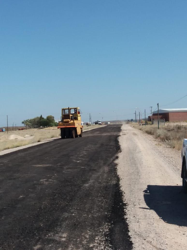 repavimentacion acceso aeropuerto roca