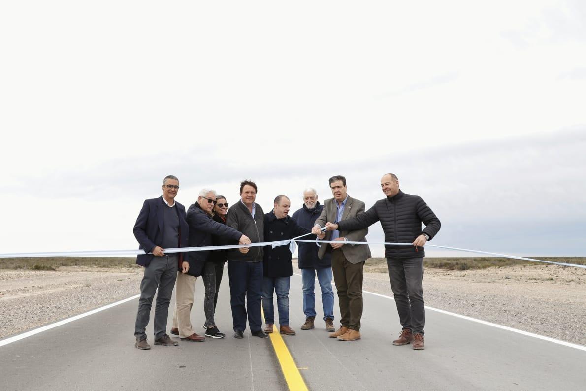 Un paso más en la integración provincial se habilitó el primer tramo de la Ruta Provincial Nº2  (1)