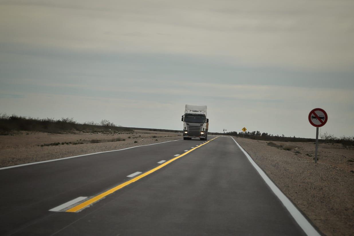 Un paso más en la integración provincial se habilitó el primer tramo de la Ruta Provincial Nº2  (2)