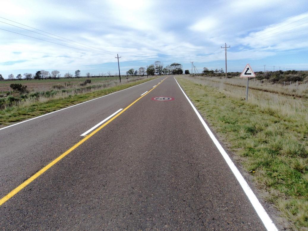 Ruta 1 - Demarcación horizontal 018